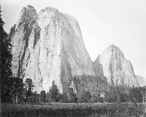 Cathedral Rock, Yosemite by Carleton E Watkins