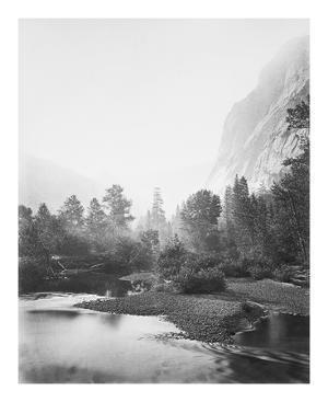 Mt. Starr King, Yosemite by Carleton E Watkins