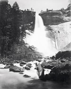 Nevada Fall, Yosemite by Carleton E Watkins