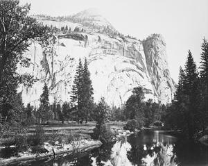 Royal Arches, Yosemite by Carleton E Watkins