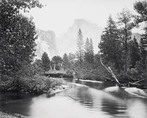 The Half Dome, Yosemite by Carleton E Watkins