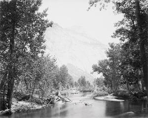 The North Dome, 3730 ft., Yosemite by Carleton E Watkins