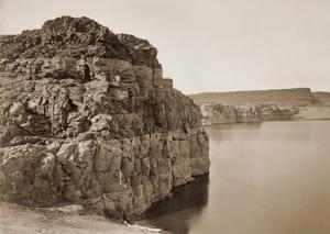 Head of the Dalles, Columbia River, Oregon, about 1883 by Carleton Watkins