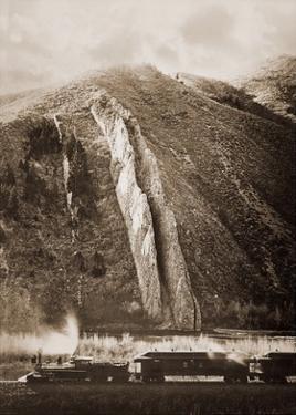 The Devil's Slide, Utah, 1873-1874 by Carleton Watkins