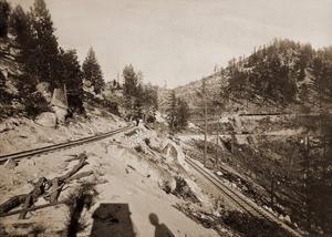 View on Lake Tahoe, California, 1877 by Carleton Watkins