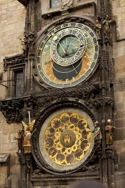 Astronomical Clock in Old Town Square in Prague, Czech Republic by Carlo Acenas