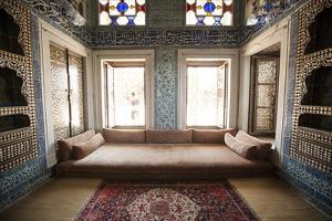 Baghdad Pavilion Room of the Topkapi Palace in Istanbul, Turkey by Carlo Acenas