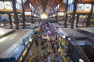 Great Market Hall, the Largest Flea Market and Farmers Market in Budapest, Hungary by Carlo Acenas