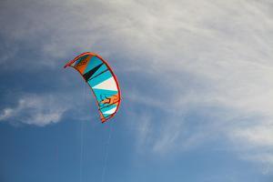 Kitesurfers at Utah Lake, Near Salt Lake City Utah by Carlo Acenas