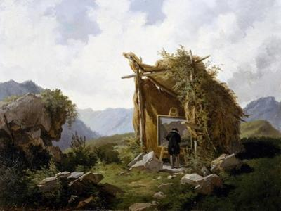 Artists in Countryside, 1857-1858