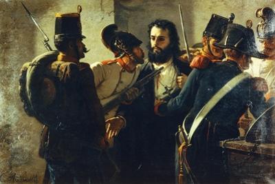 Ugo Bassi in Comacchio Prison
