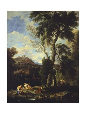 Landscape with Pilgrim