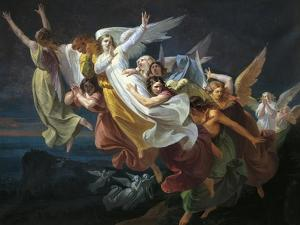 Calvary Angels, Circa 1853 by Carlo Arienti