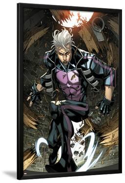Ultimate Comics X-Men No.7: Quicksilver Crouching by Carlo Barberi