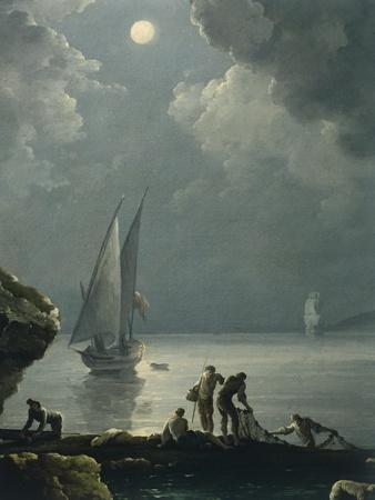 Marina in the Moonlight
