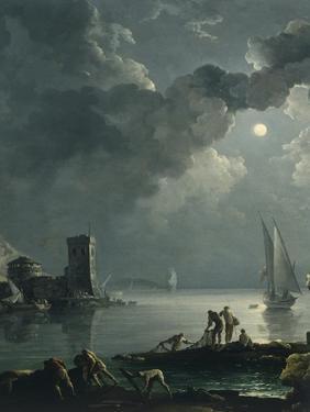 Marina in the Moonlight by Carlo Bonavia
