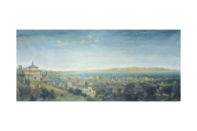 Panorama of the City and the Strait of Messina, 1858