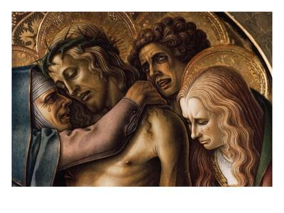 Detail of Pieta