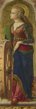 Saint Catherine of Alexandria, 1476 by Carlo Crivelli