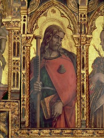 St. James, Detail from the San Martino Polyptych