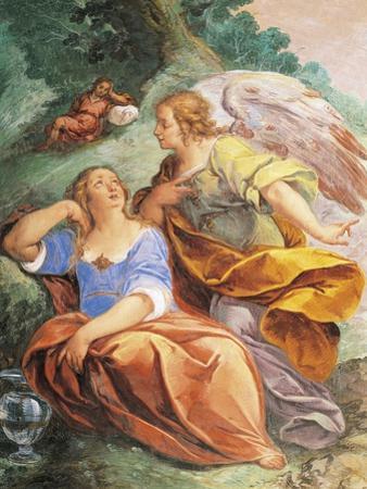 Hagar and Angel, 1648 by Carlo Francesco Nuvolone