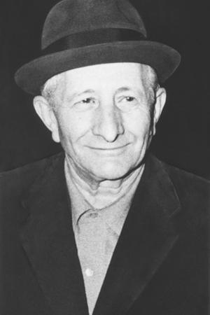 Carlo Gambino Mafia 'Boss of All Bosses' in New York, Ca. 1972