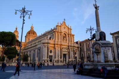 Catania Cathedral, dedicated to Saint Agatha, Catania, Sicily, Italy, Europe