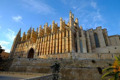 La Seu, the Cathedral of Santa Maria of Palma, Majorca, Balearic Islands, Spain, Europe