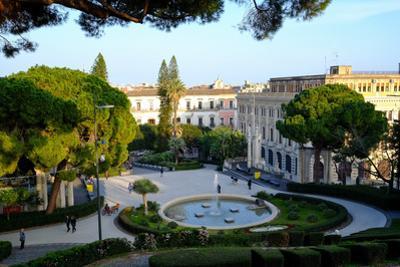 Maestranze Park, Catania, Sicily, Italy, Europe