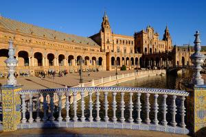 Plaza De Espana, Built for the Ibero-American Exposition of 1929, Seville, Andalucia, Spain by Carlo Morucchio