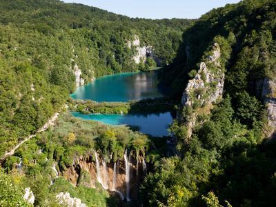 Plitvice Lakes National Park, UNESCO World Heritage Site, Croatia, Europe