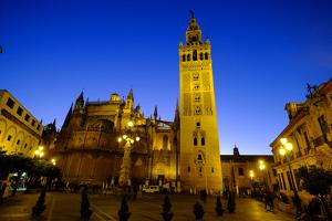 Seville Cathedral and Giralda, Seville, Andalucia, Spain by Carlo Morucchio