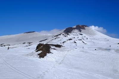 Summit craters of Mount Etna, UNESCO World Heritage Site, Catania, Sicily, Italy, Europe