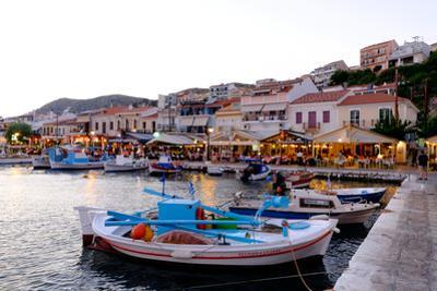 The Port of Pythagorio, Samos Island, North Aegean Islands, Greek Islands, Greece, Europe by Carlo Morucchio