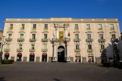 University of Catania, Piazza Universite, Catania, Sicily, Italy, Europe