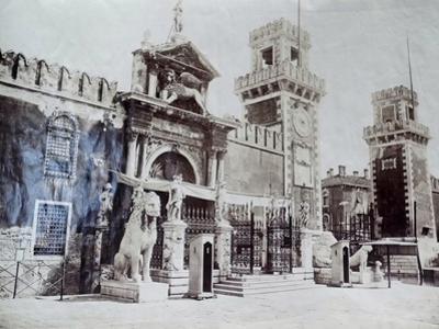 Arsenale, Venice, C.1870