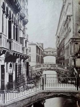 Bridge of Sighs, Venice, C.1870 by Carlo Naya