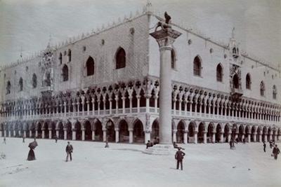 Doge's Palace, Venice, C.1870