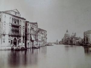 Grand Canal, Venice, C.1870 by Carlo Naya
