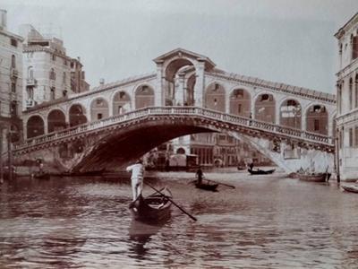 Rialto Bridge, Venice, C.1870