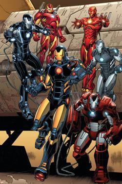 Iron Man #15 Featuring Iron Man by Carlo Pagulayan