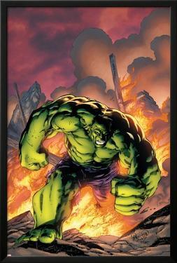 Marvel Adventures Hulk No.1 Cover: Hulk by Carlo Pagulayan