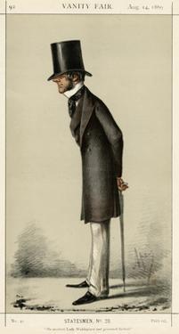 3rd Earl Fortescue, Vanity Fair by Carlo Pellegrini