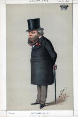 A Conservative Religionist, 1871 by Carlo Pellegrini
