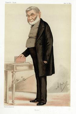 Anthony Panizzi, Italian Bibliographer, 1874 by Carlo Pellegrini
