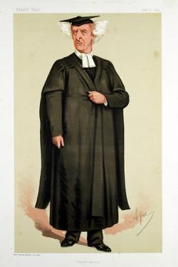 Henry George Liddell, British Scholar, 1875 by Carlo Pellegrini