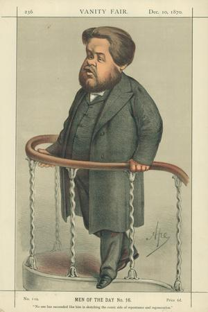The Rev Charles Spurgeon, Noone Has Succeeded Like Him in Sketching the Comic Side of Repentance…