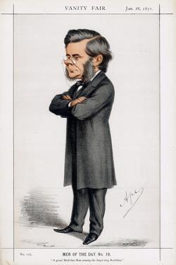Thomas Henry Huxley, British Biologist, 1871 by Carlo Pellegrini