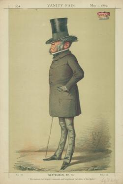 Viscount Sydney, He Received the Royal Commands and Lengthened the Skirts of the Ballet, 1 May… by Carlo Pellegrini