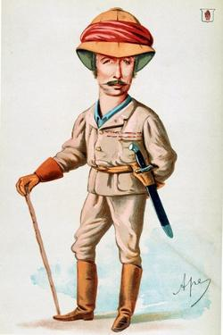 Viscount Wolsley, British Soldier, 1874 by Carlo Pellegrini